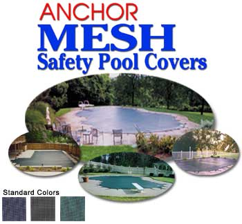 Anchor Mesh Safety Cover